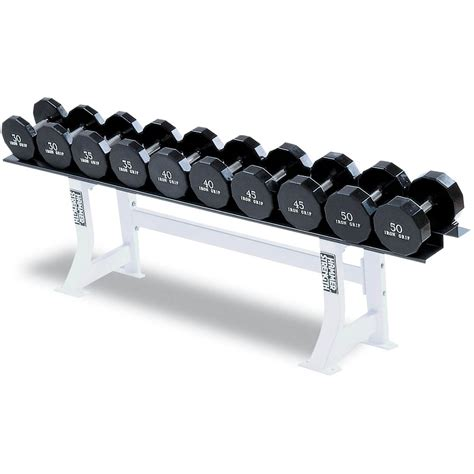 Rak Dumbbell hammer strength single tier dumbbell rack fitness