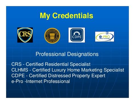 Certified Luxury Home Marketing Specialist Designation Certified Luxury Home Marketing Specialist Designation
