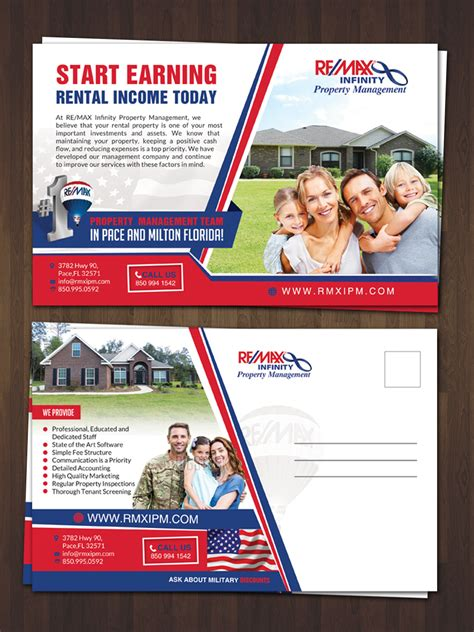 property management postcards templates 48 modern professional property management postcard