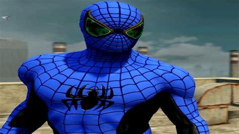 spider man blue hc amazing 0785110623 blue spider man gameplay the amazing spider man 2 pc mod youtube