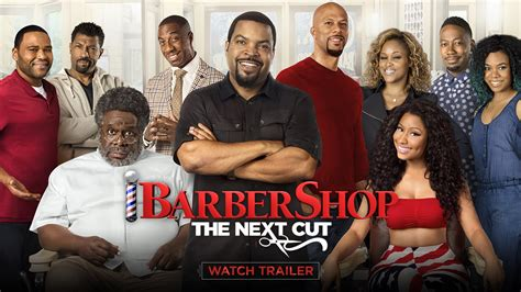 who will be the next actress to cut her hair short in 2015 barbershop the next cut official trailer 1 hd youtube