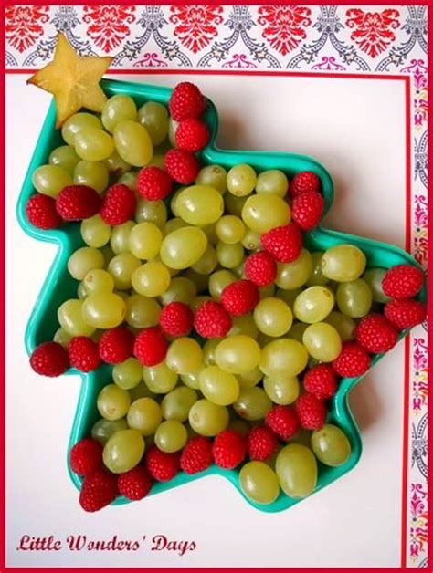 christmas tree fruit platter healthy holiday s