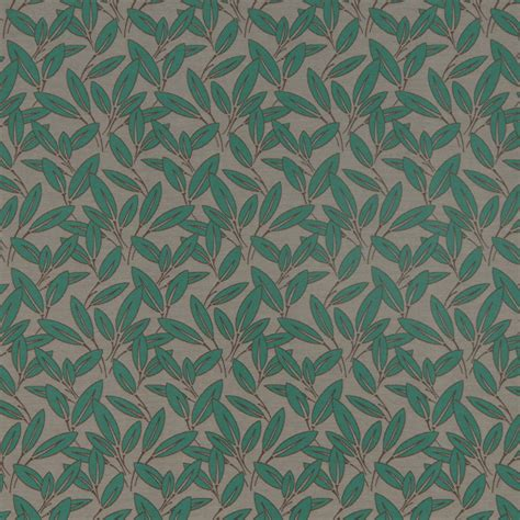 emerald green upholstery fabric emerald green upholstery fabric with leaves by popdecorfabrics