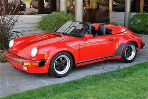 porsche speedster 1989 1989 porsche 911 speedster convertible top conversion kit