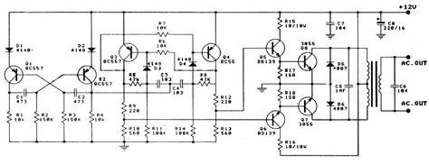 len 24v 12v to 220v 100w inverter power supply circuits