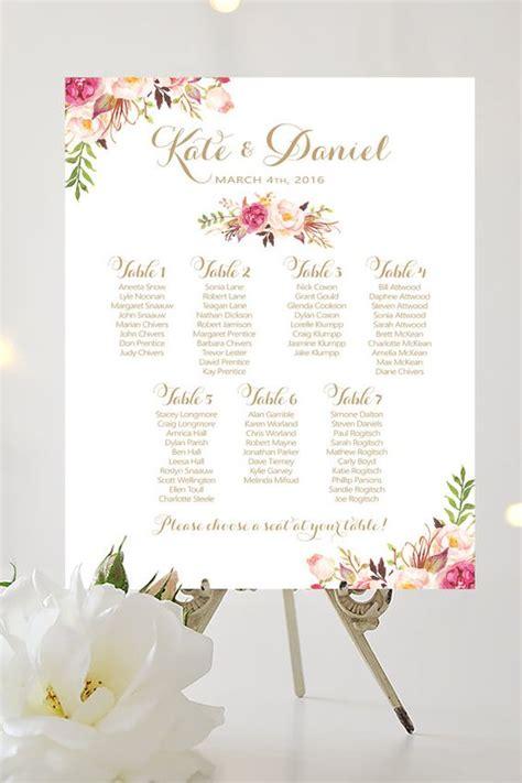 tableau tema fiori matrimonio a tema romantico tante idee originali per