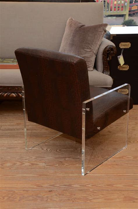 lucite armchair lucite armchair for sale at 1stdibs