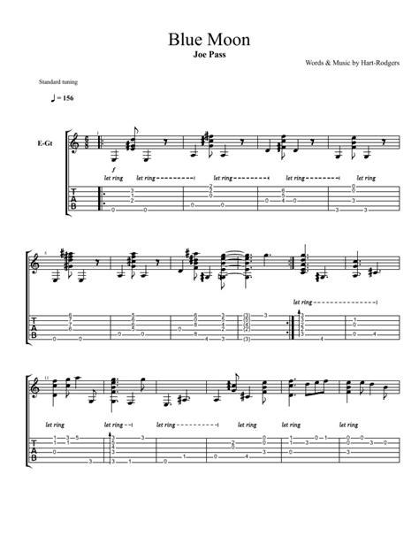 Pass, Joe - Blue Moon | Chansons | Musique populaire