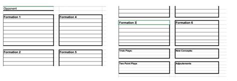 Coach Vint Developing An Offensive Game Plan And Call Sheet Less Is More Wrist Coach Template