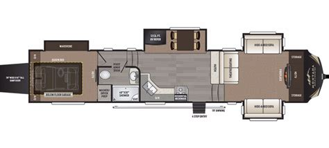 montana 5th wheel floor plans 2017 keystone montana high country 380th cing world