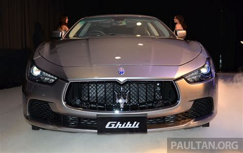 Maserati Ghibli Launched In Malaysia From Rm538 800