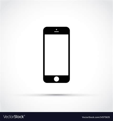 mobile phone icons mobile phone cell phone icon royalty free vector image