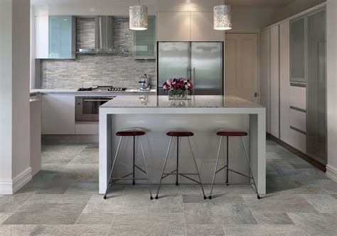 Ceramic Tile Kitchen Floor Ideas Ceramic Amp Porcelain Tile Ideas Contemporary Kitchen