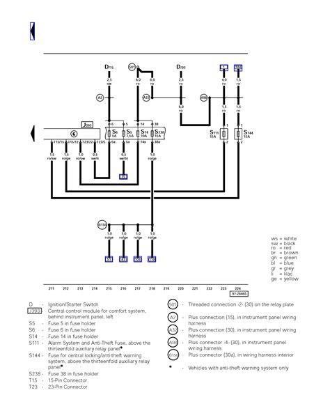vwvortex ccm comfort module wiring diagram