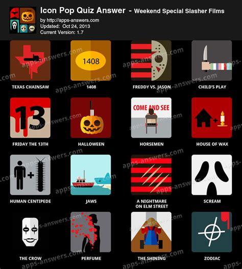 quiz film recent 19 icon pop quiz slasher films images icon pop quiz