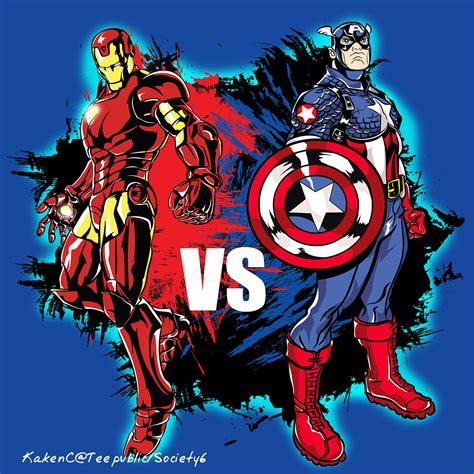 T Shirt New Captain America 05 kakenc design captain america ironman t shirt design