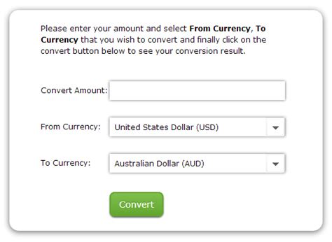 Currency Converter Jquery | vasplus programming blog 01 08 13