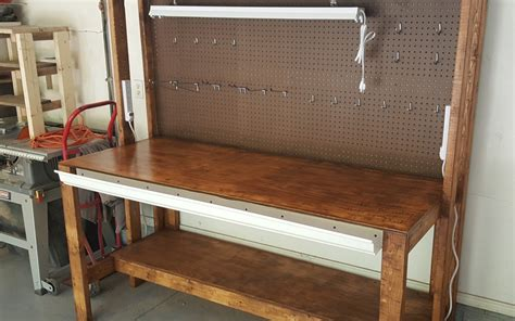 bench designs diy diy garage workbench plans pratt family blog