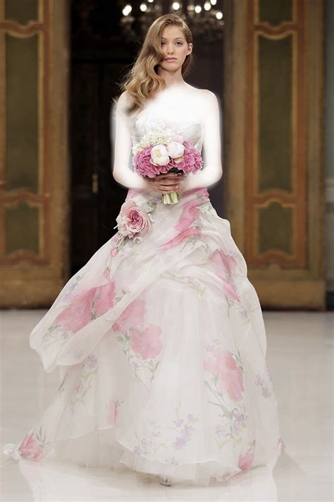 Pink Designer Wedding Dresses by Pink Wedding Dresses Pinktober Knotsvilla