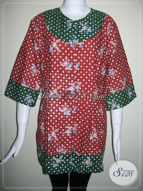 Baju Jumbo Ukuran Besar Baju Batik Wanita Ukuran Jumbo Besar Big Size Bls639c