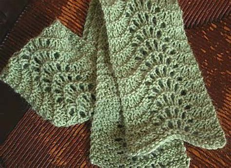 knit scarf pattern lace easy lace scarf crochet knitting