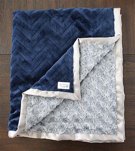 Minky Blankets Minky Blanket Baby Boy Blanket For Boy Chevron Blanket
