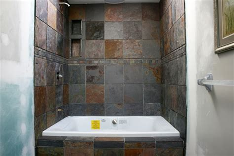 Tile Bathtub Shower Combo by Picking Out Tile For A Master Bath Remodel