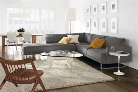 room and board sectional sofa timeless sculptural decor inspirations by isamu noguchi