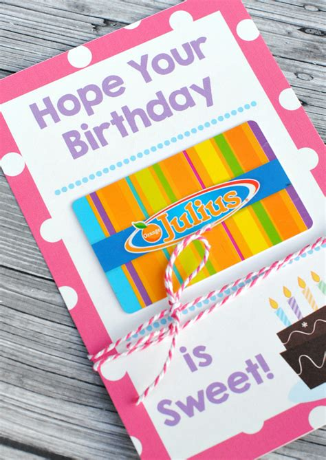 printable birthday gift card holder printable birthday gift card holders crazy little projects
