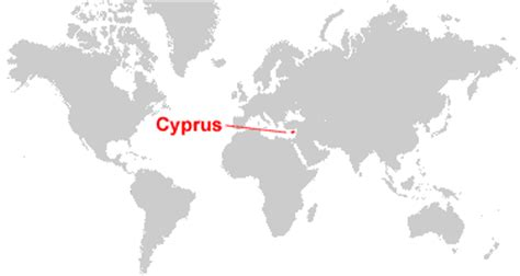 where is cyprus on the world map cyprus map and satellite image
