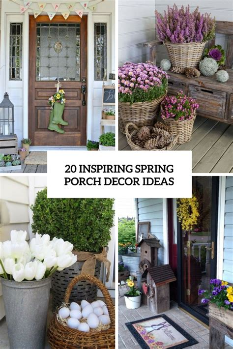 spring porch decorating ideas 20 inspiring spring porch d 233 cor ideas shelterness