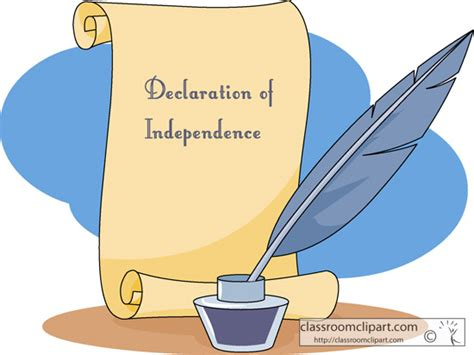 declaration of independence clipart declaration of independence clipart clipart suggest
