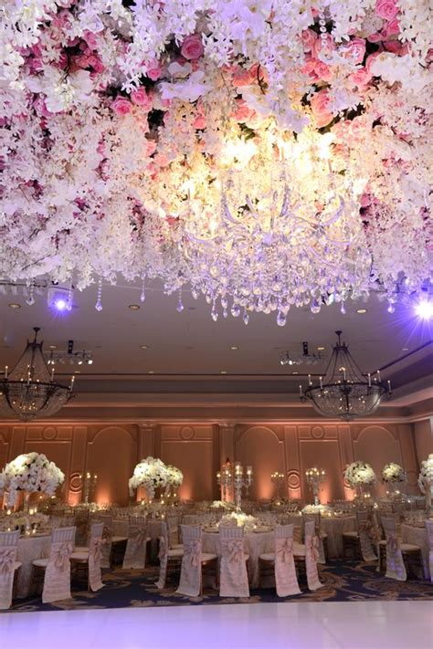 wedding ceiling decorations 10 floral reception ceilings that will make you re think