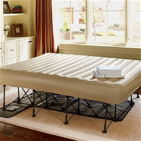 low price essential ez portable bed frontgate air bed and frame
