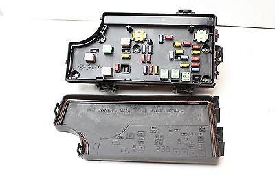 08 09 jeep patriot p68048117aa fusebox fuse box relay unit module k9977 p68048117aa 68048117aa