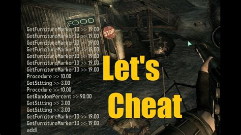 fallout 3 console codes let s on fallout 3 pc console command cheats ammo