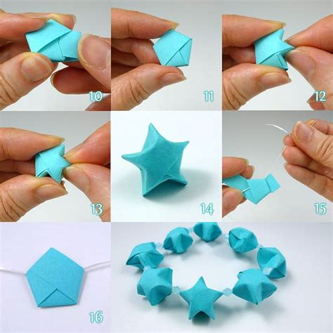Origami Lucky Tutorial - lucky folding steps by all things paper via