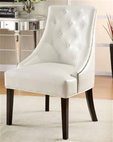 Dining Room Chairs White by Leather Ike Lounge Chair White Finish Modern Dining
