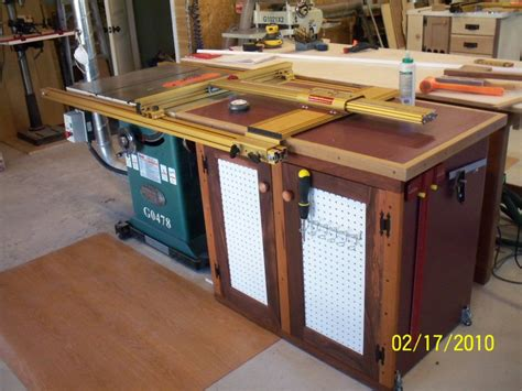best value cabinet table saw table saw extension cabinet finewoodworking