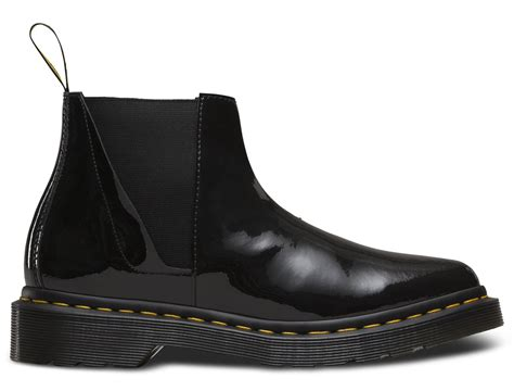 Herrenschuhe Boots 3873 by Dr Martens Low Shaft Zip Premium Leather