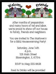 neighborhood housewarming invitations