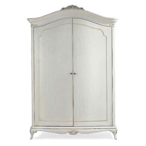 wide armoire ivory french inspired wide fitted wardrobe french
