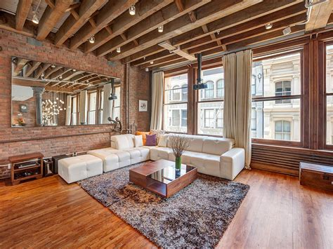 wood brick add traditional design in luxurious soho loft freshome com