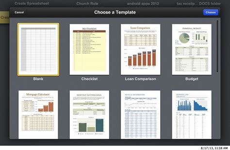 iwork templates icloud beta review ios 7 aesthetics and new iwork apps arrive