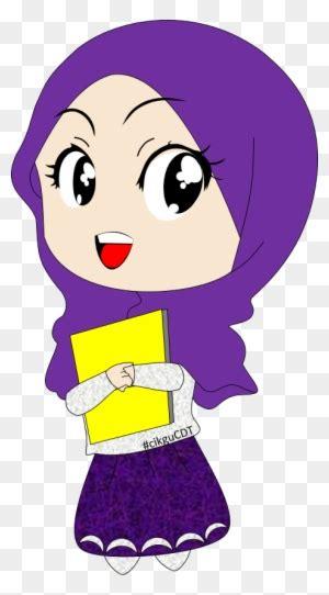 muslim islam quran hijab cartoon muslimah cartoon