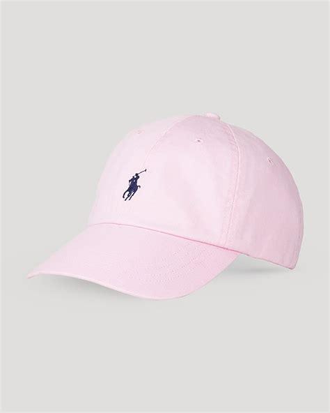 light pink polo baseball cap pink baseball cap polo ralph chino sports