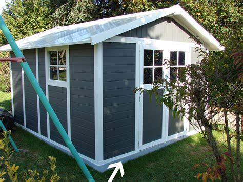 Ordinaire construire son abri de jardin en bois #1: Joint-silicone-exterieur-abri-jardin.JPG