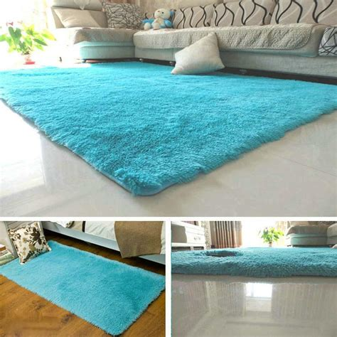 Fluffy Rugs Anti Skiding Shaggy Area Rug Dining Rooms Shaggy Rugs For Room