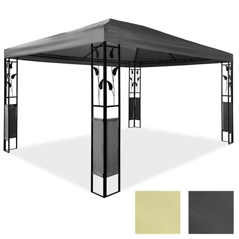 pavillon 3x4 pavillon 3 x 4 m design gartenpavillon gartenzelt festzelt