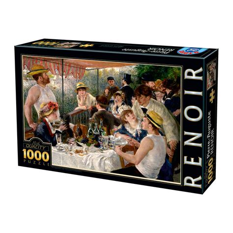luncheon of the boating party theme puzzle auguste renoir luncheon of the boating party
